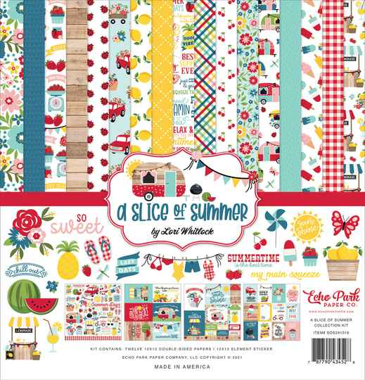 Echo Park A Slice Of Summer 12x12 Inch Collection Kit (SOS241016)
