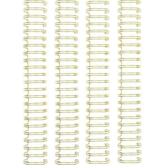We R Memory Keepers Cinch Wire 1 Inch Gold (4pcs) (660504)