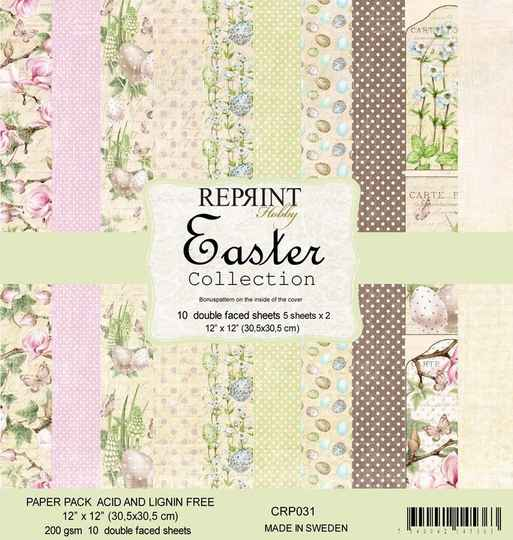 Reprint Easter Collection 12x12 Inch Paper Pack