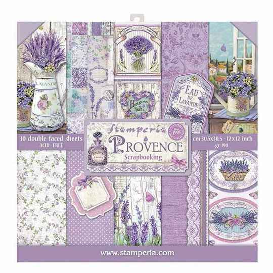 Stamperia Provence 12x12 Inch Paper Pad