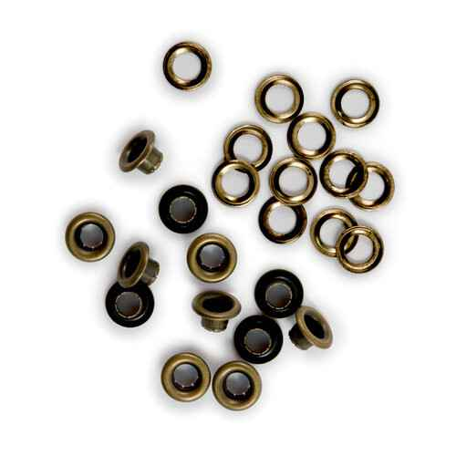 We R Memory Keepers Standard Brass Crop-A-Dile Eyelet and Washer (42217-4)