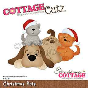 Scrapping Cottage Christmas Pets (CC-784)