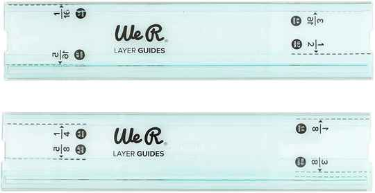 We R Memory Keepers Mini Layer Guides Basic Tools (2pcs) (660483)