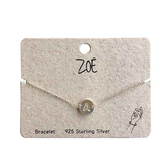 Armband letter A