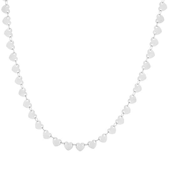 full hearts ketting ZILVER