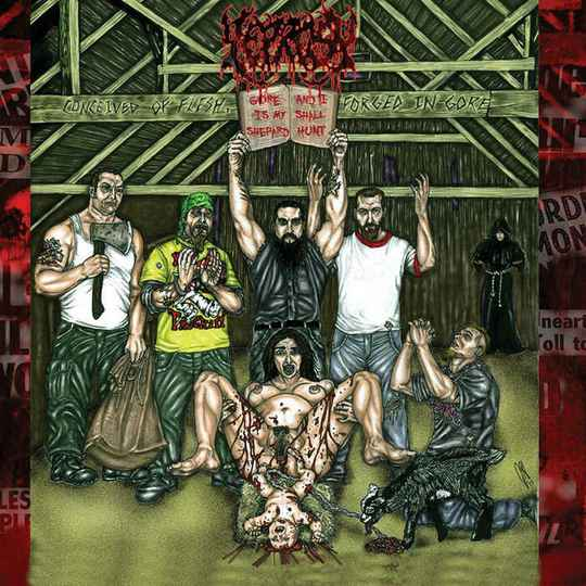 Leprosy - Conceived Of Flesh, Forged In Gore