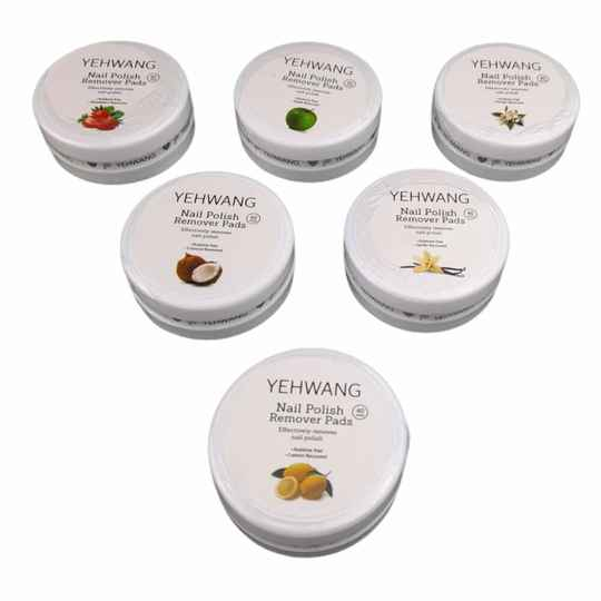 Nagellak remover pads