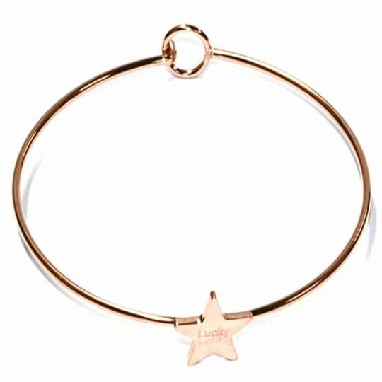 Stainless steel armband - Lucky Star