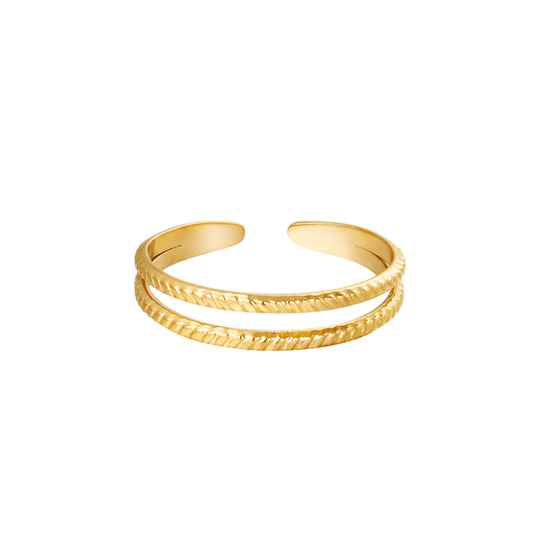 Miraculous ring goud