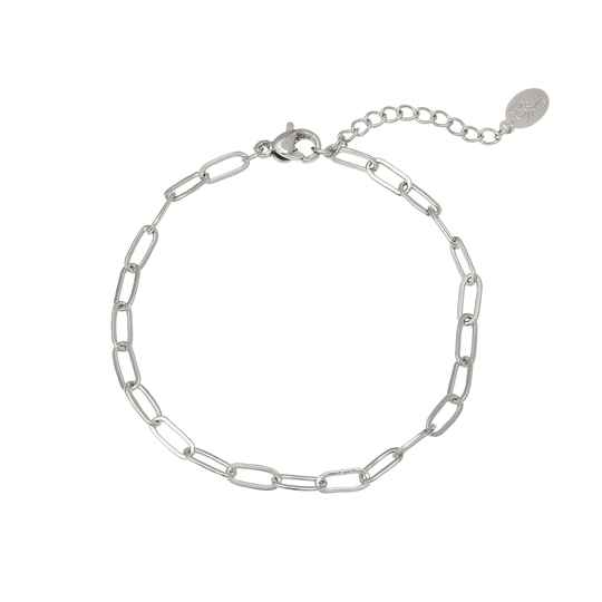 Chained up zilver