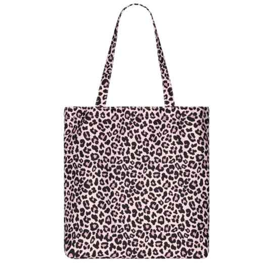 Pink Leopard shopper