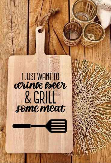 Tapasplank : I just want to drink beer & grill some meat