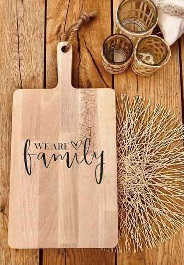 Tapasplank : we are family