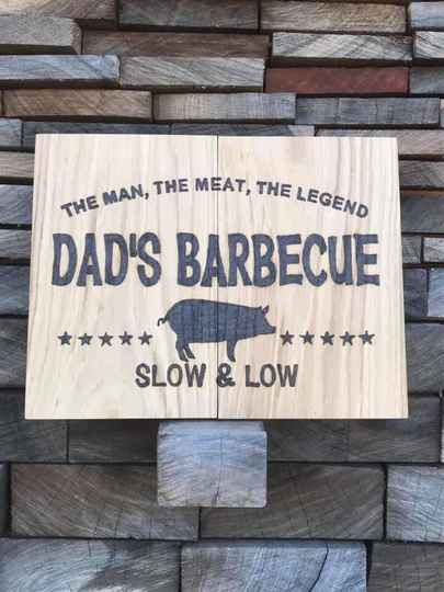 Dad's barbecue slow & low