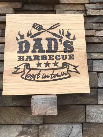 Dad's barbecue