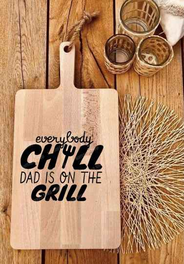 Tapasplank : everybody chill dad's on the grill