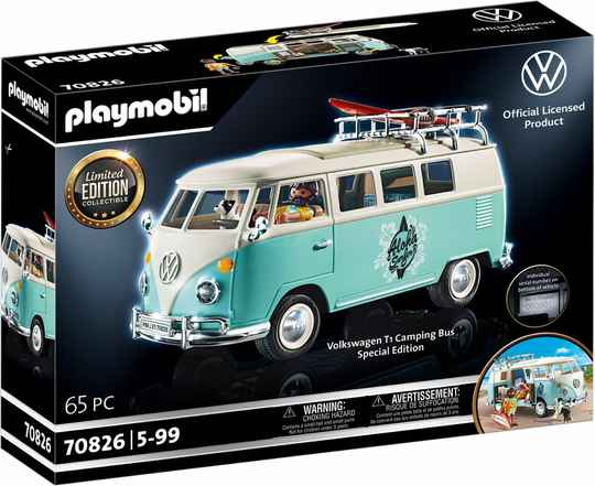 """PLAYMOBIL Volkswagen T1 Camper """"Limited Edition"""""""