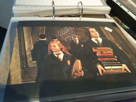 Signed Autographic: Ellie Darcey-Aldan aka Young Lily Potter