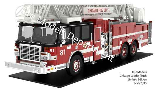 Combi Package: Truck 81 Scale Model + Autographic