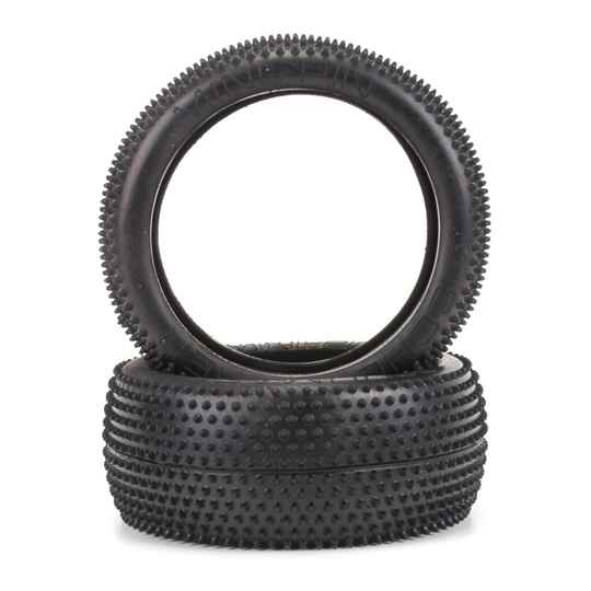 MINI PIN 1/8TH TYRE - YELLOW (PR)
