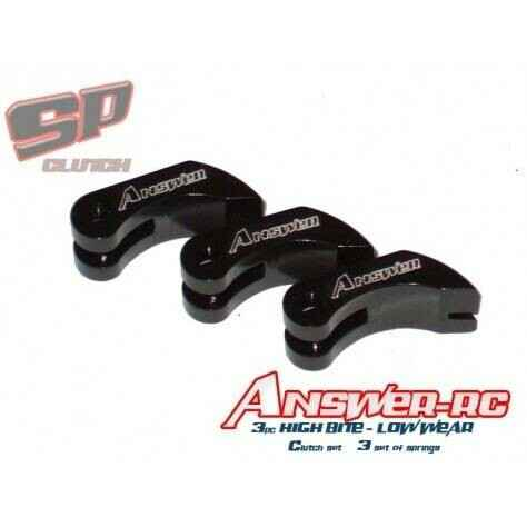 Answer-RC 3 Shoe High Bite Low Wear Set With 3 Sets of Springs