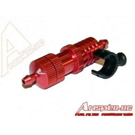 Answer-RC Fuel Filter Cooler Pressure Regulator With Mount-Red