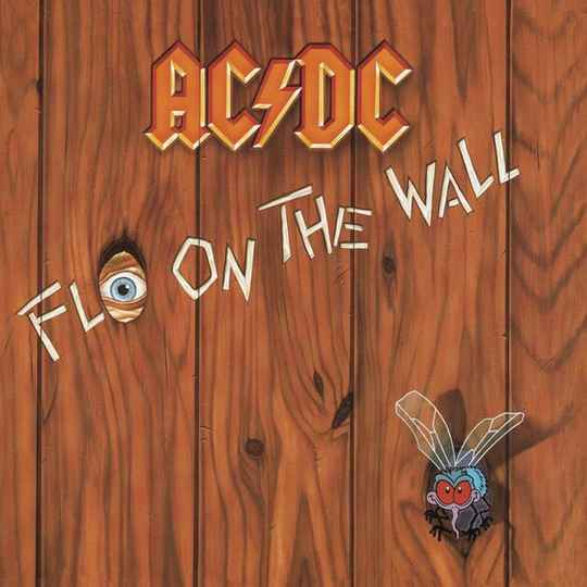 AC-DC Fly on the wall CD
