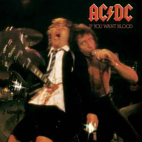 AC-DC If you want blood you've got it CD