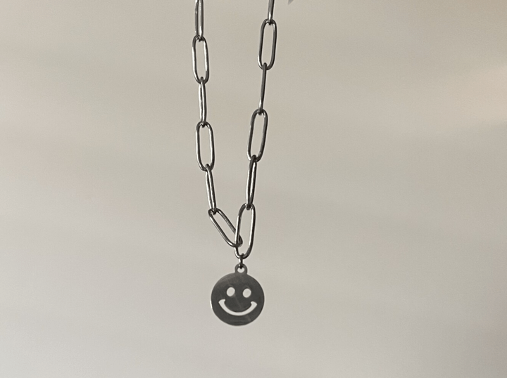 Smile Chain armband zilver