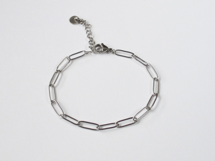 Chain Armband zilver