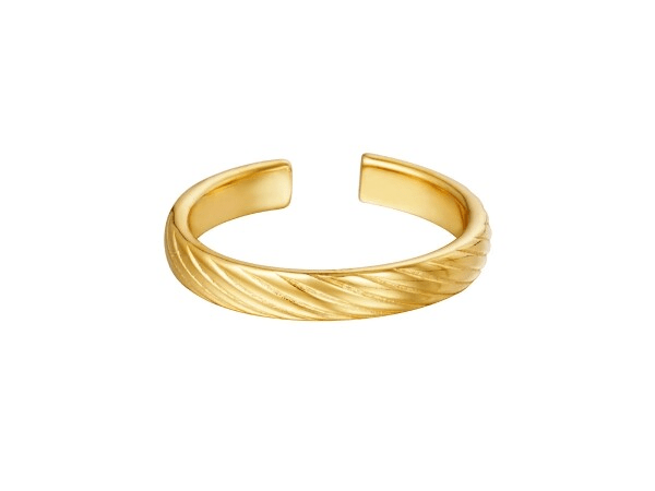 Twisted Ring goud