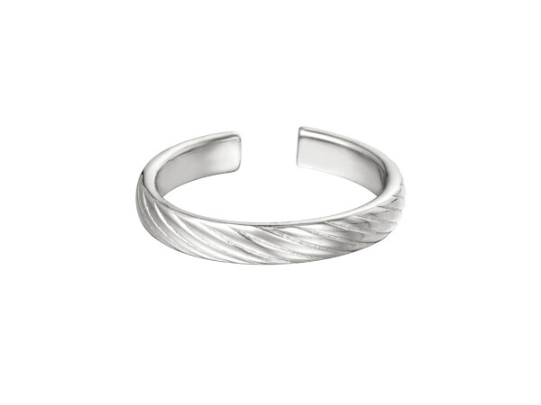 Twisted Ring zilver