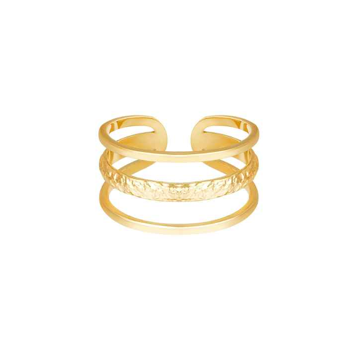 Ring Layers gold