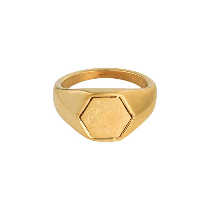 Ring Wolves gold