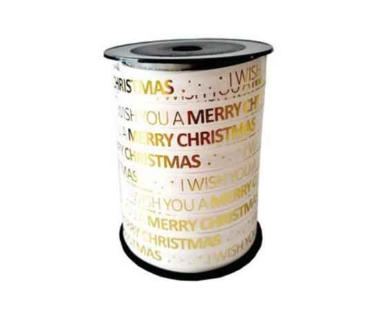 I wish you a merry christmas wit goud lint 5 meter