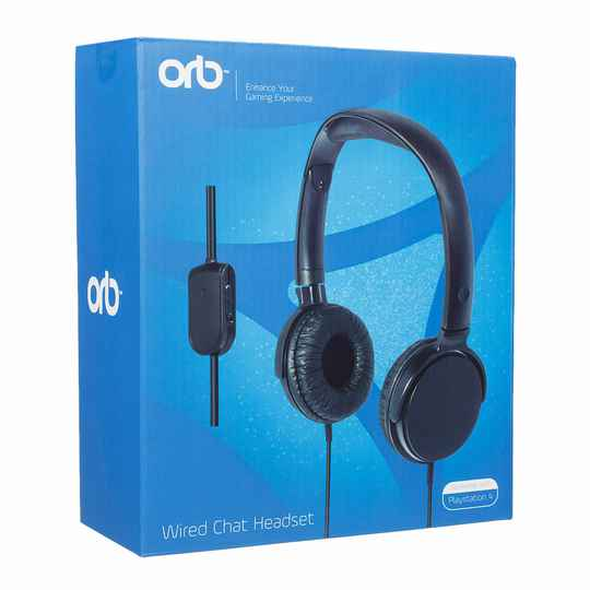 Orb Gaming Headset C/W Microphone for PS4