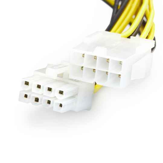 Jacobytes 8 Pin M to 8 Pin F ATX CPU Extension Power Cable 20CM
