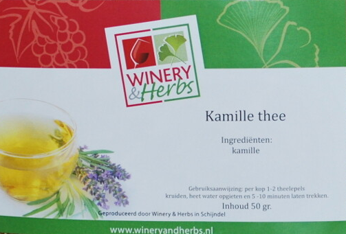 Kamille thee Winery & Herbs