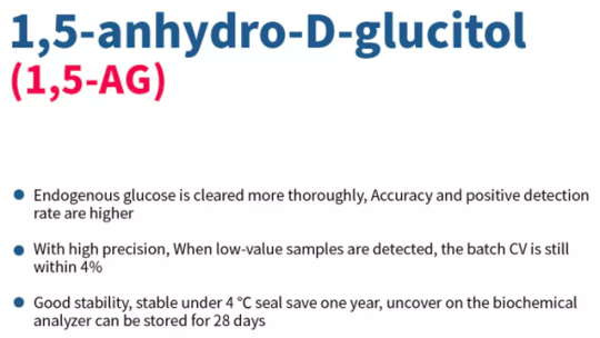 1,5-anhydro-D-glucitol (1,5-AG)