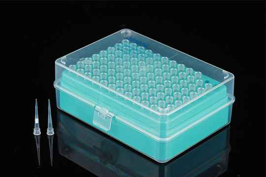 Pipette tips (Sterile, DNase/RNase free, pyrogenic free)
