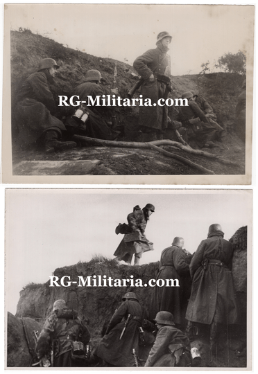 Press photo - German soldiers, Eastern front (1943)