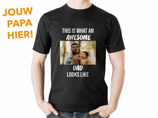 T-shirt Awesome dad