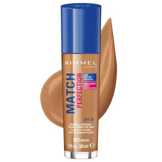 Rimmel London Match Perfection Invisible Coverage - 503 Mocha
