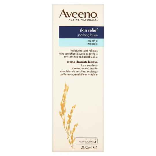 Aveeno Skin Relief Soothing Lotion with Menthol