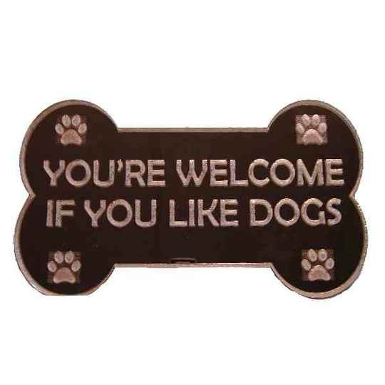 You're welcome if you like dogs Troglass Mirror