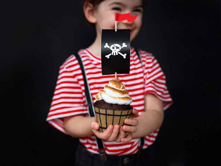 Cupcake set - Piraten