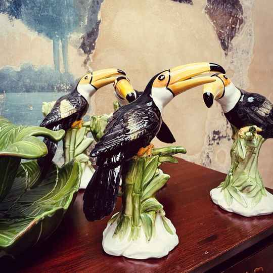 Toucan Candle Holder