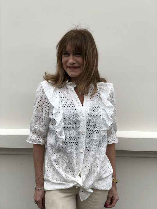JUST DAI BRODERIE BLOUSE 234