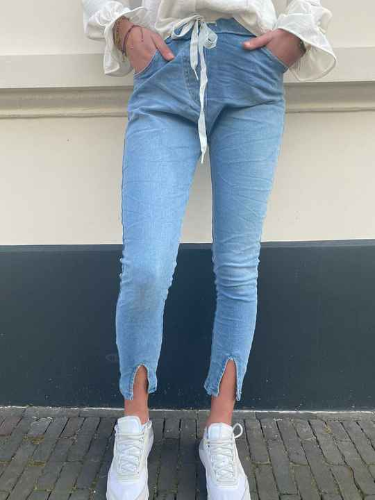 DYVIE MODE JOGGINGS LOOK JEANS SPLIT 3640
