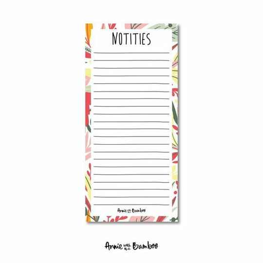 Notitieblok | Notities | Annie with the Bamboo
